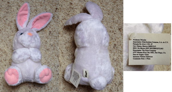 White Rabbit, White Bunny, White Hare, Plush Toy, Stuffed Animals, Bunny Rabbit