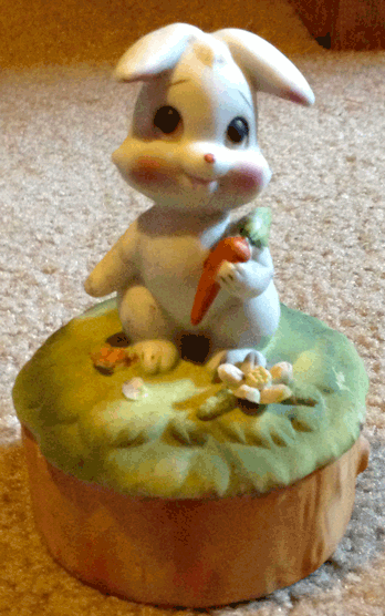 Rabbit, Bunny, Candy Dish, Jewelry Box, Hare, White Bunny, White Rabbit, Trinket Box,